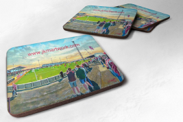 gayfield park  Coaster set of four